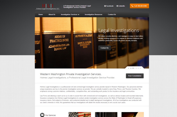 Holmes Legal Investigations