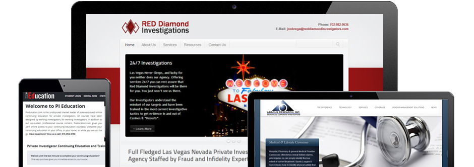 investigator-marketing-websites