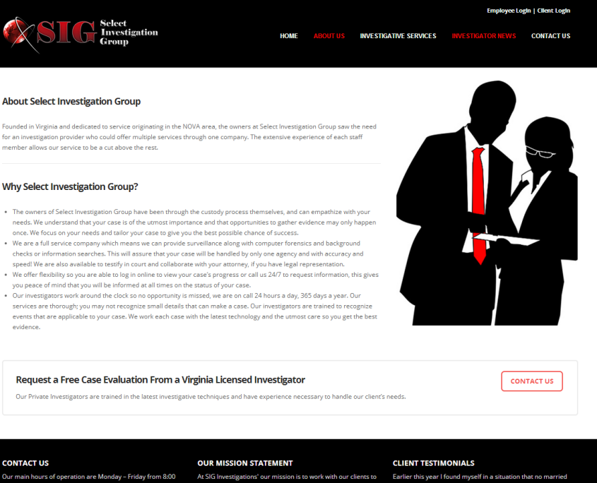 North Virginia Private Investigator