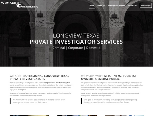 Longview Texas Private Investigator