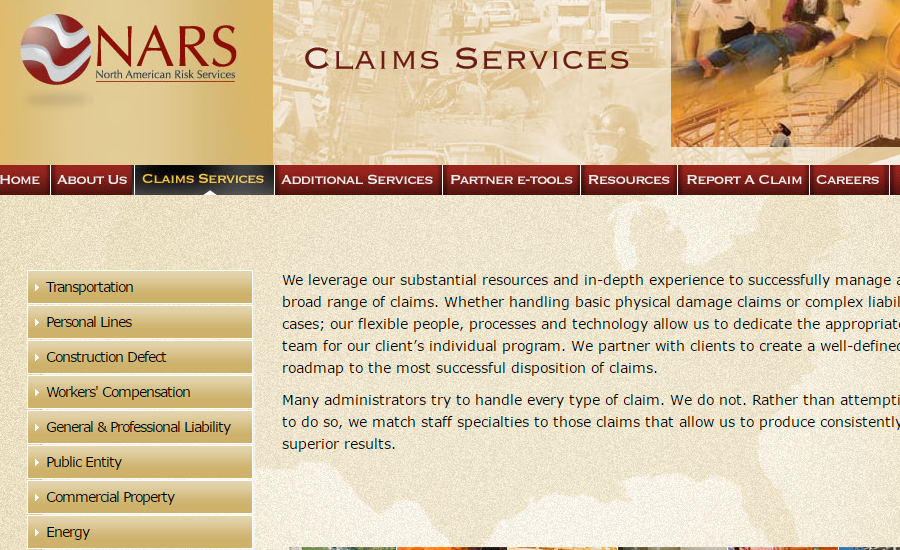 Our Claims Services North American Risk Services