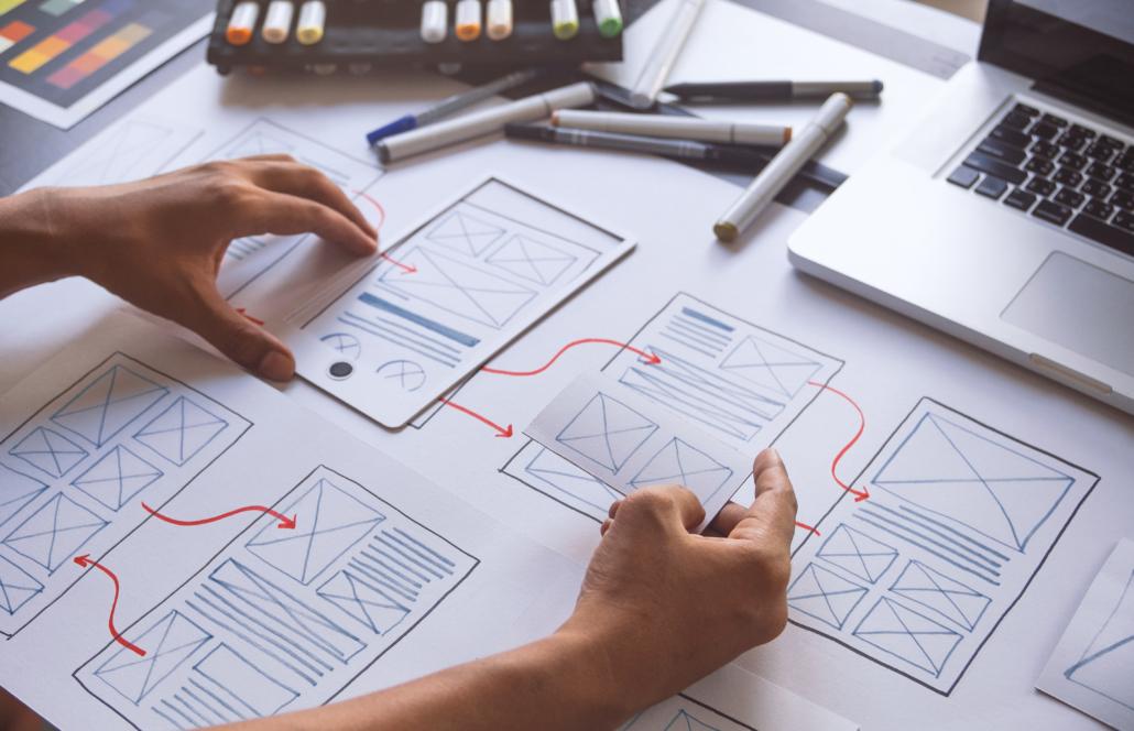 App and Website Design Work Flow for Private Investigators