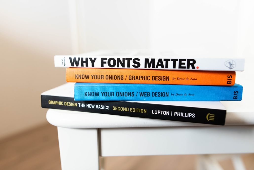 Book about marketing and design