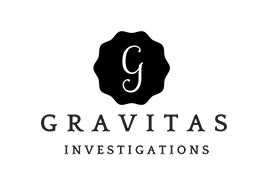 Logo for Gravitas Investigations